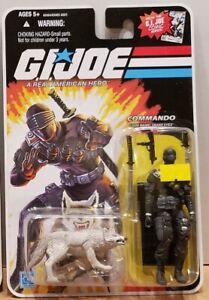 "G.I. Joe 25th Anniversary: Commando (Snake Eyes) w/Timber 3.75"" Figure"