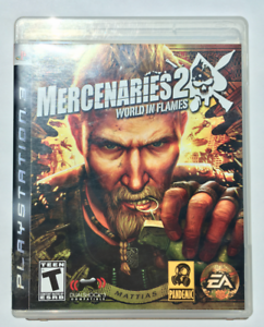 Mercenaries 2 World in Flames: Sony PlayStation 3 (PS3) - Not For Resale - CIB