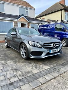 2017Mercedes Benz C220d AMG Line C-Class, Not damaged/Repaired, no swap/px