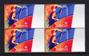 Australia-Post-Design-Set-Decimal-MNH-2000-Paralympic-Torch-Sydney