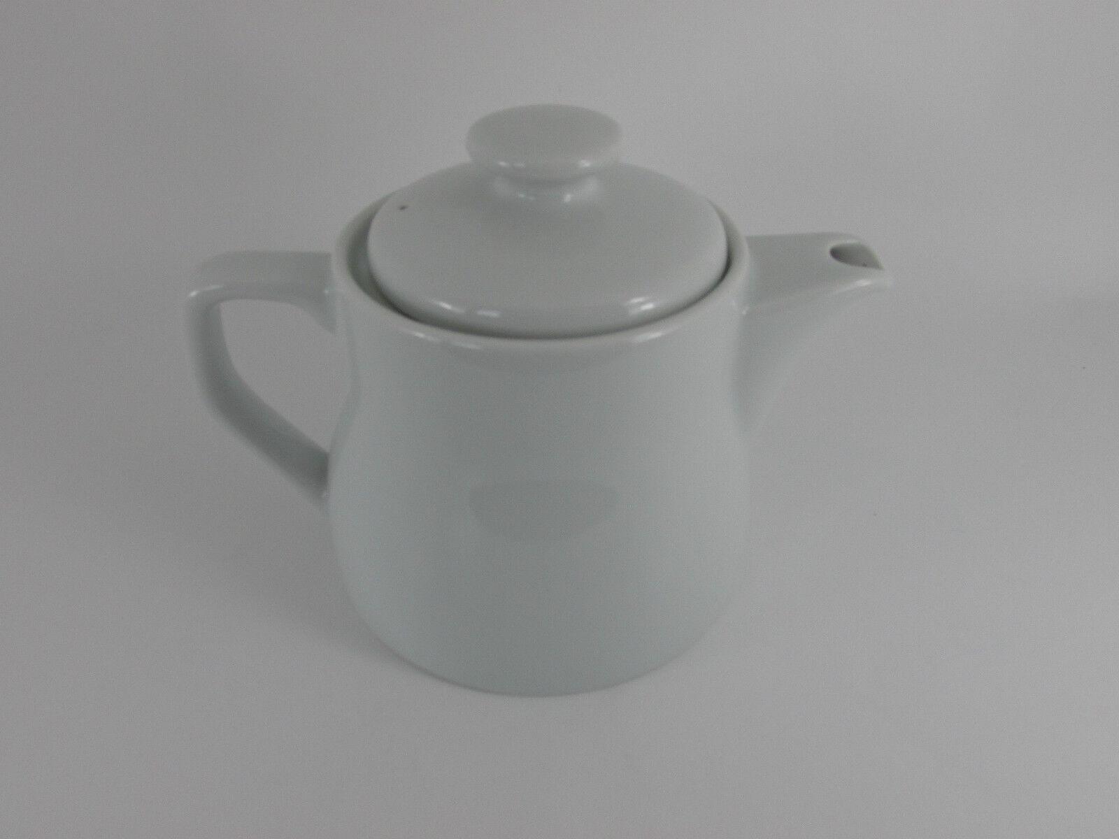 Porcelite 16oz Tradizionale Bianco Teiera X 6 CAFFETTIERA Cafe ristorante stoviglie