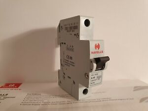 Wilex Plug-in MCB BSEN60898 type B 240V 32A used circuit breaker working
