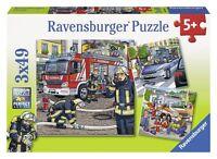 Ravensburger Helfer In Der Not Ab 5 Jahren Puzzles Mit 49 Teilen 3 Motivvorlagen
