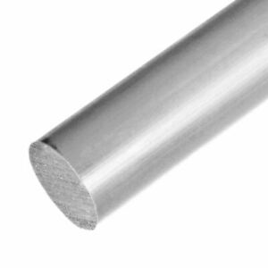 White Acetal Round Rod x 12 inches long 3 inch Diameter: 3.000