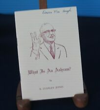 WHAT IS AN ASHRAM? 1962 booklet by E. Stanley Jones Christianity Religion