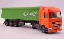 Siku 1796 Mercedes Actros Truck with Fliegl Tipping Trailer Diecast Scale 1:87