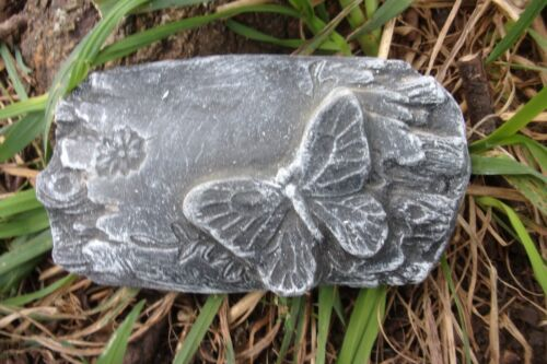 """Log butterfly mold plaster concrete mould 5/"""" x 3/"""" x 3//4/"""" thick"""