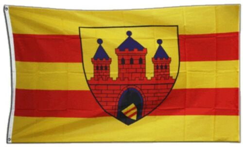 Bandiera Germania Città di Oldenburg bandiera Weser hissflagge 90x150cm