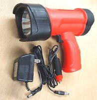 Led Rechargeable Spotlight 1-watt Lithium Ion Wall & Car Chargers