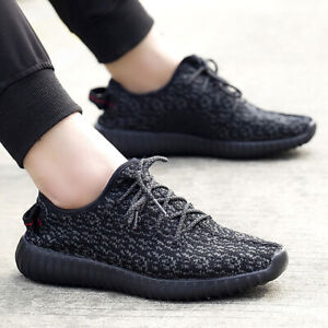 au men yeezi style running shoes big size breathable