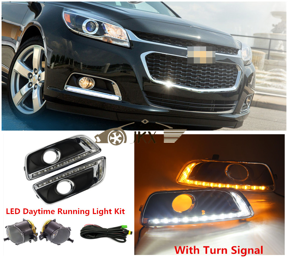 Fog Lamps Led Drl Daytime Lights Kit