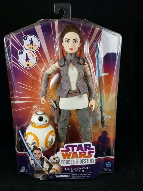 Star Wars Forces of Destiny Rey of Jakku and BB-8 Adventure Figure