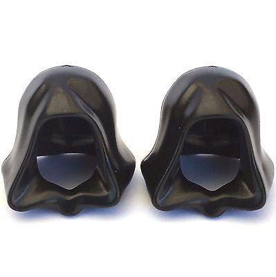 2 x Star Wars LEGO® Black Robe Hood for Sith Lord /& Jedi minifigure Genuine Part