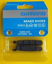 Shimano BR-CX70 R55C+1 Cartridge Bike Brake Pad Shoes Black Pair
