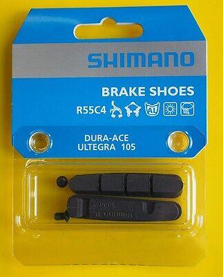 Shimano Road Brake Pads Shoes Cartridges R55C4  Dura Ace 9000// Ultegra 6800// 105