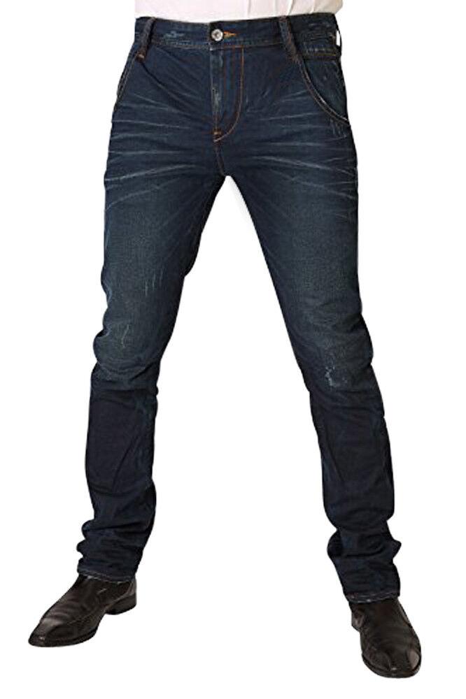 Garcia LUCCO Herren Herren Herren Jeans V41311-1141 Blau Coated Used   Verkaufspreis  11cddc