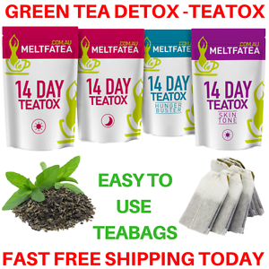 GREEN-TEA-DETOX-TEATOX-X50-SKINNY-TEA-ME-WEIGHT-LOSS-FAT-BURNER-4-x-PACKS-AU