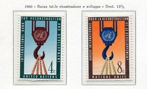19037-UNITED-NATIONS-New-York-1960-MNH-Reconstruction