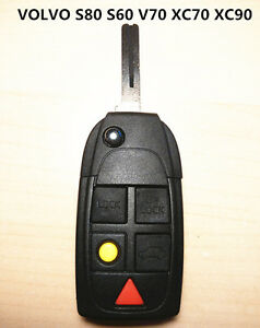 VOLVO-5-BUTTON-REMOTE-KEY-SHELL-CASE-for-S80-S60-V70-XC70-XC90