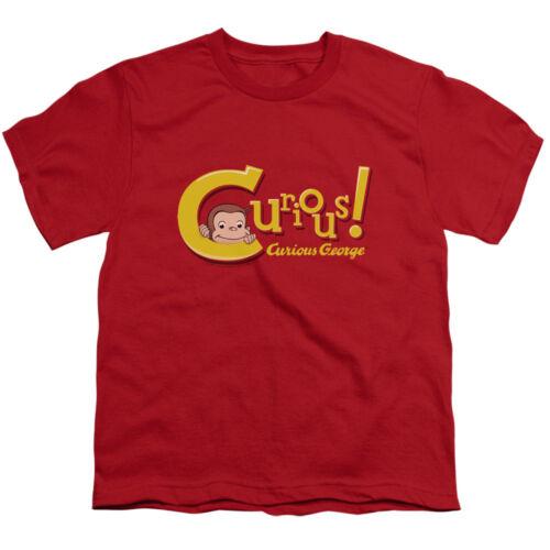 Curious George Monkey Movie TV Show Childrens Book Curious Big Boys T-Shirt Tee