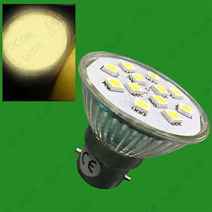 6x 3W GU10 Epistar SMD 5050 LED Spot Light Bulbs 2700K Warm White Lamps