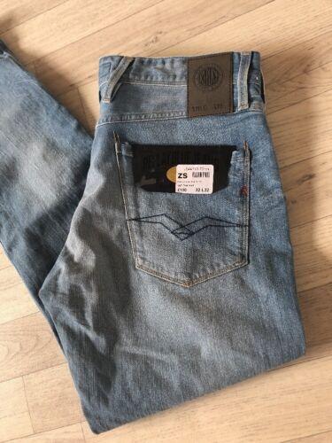 Jeans Anbas Bnwt L32 comfort rilassato Denim W32 Replay gZqwO1a77
