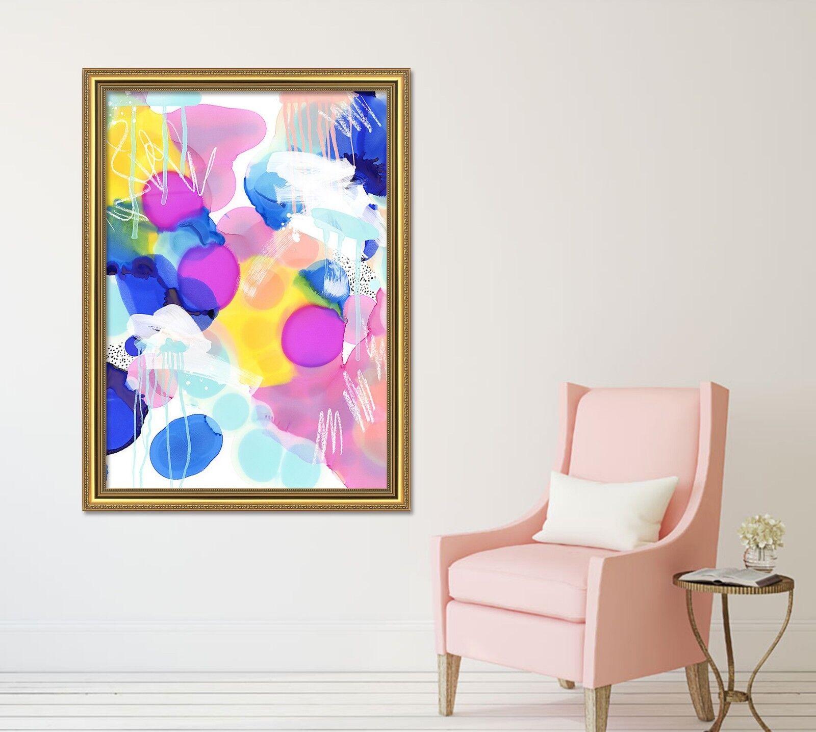 3D Fashion Modern 2 Framed Poster Home Decor Print Painting Art AJ WALLPAPER