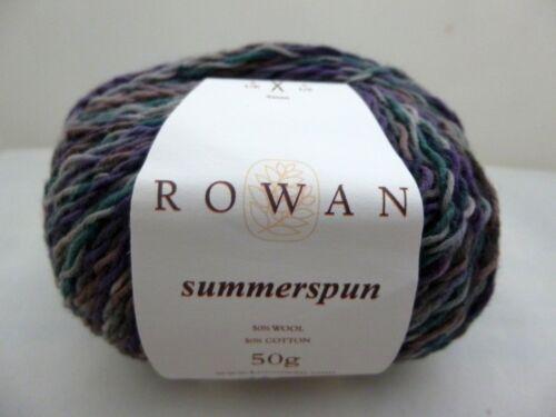 Rowan Summerspun x 50g ~ 50/% Wool 50/% Cotton ~ Choose Colour