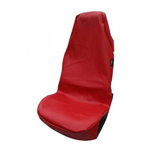 XL Werkstattschoner Rot Auto Sitzschoner Sitzbezug Werkstattbezug Kunstleder Neu