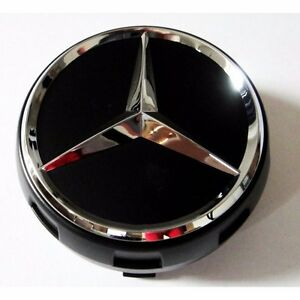 4x genuine mercedes benz wheel center caps amg edition one for Mercedes benz tire caps