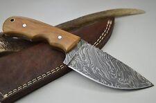 Knife Damastmesser Jagdmesser Taschenmesser Damast Messer Bowie MEGA Skinner #3