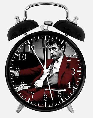 """2019 Mode Scar Face Alarm Desk Clock 3.75"""" Home Or Office Decor W193 Nice For Gift Het Speeksel Verversen En Verrijken"""