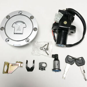 Ignition-Switch-Fuel-Gas-Cap-Seat-Lock-Key-Set-For-Honda-CBR600F4-F4i-2001-2006