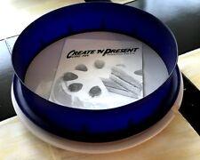 "KitchenAid CREATE 'N PRESENT 9"" Round Ceramic Base / Silicone Mold Cake Pan"