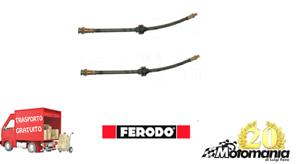 29//1209 COPPIA TUBI FRENO ANTERIORE SX+DX LANCIA Y DAL 1996 AL 2003 cc 1100 1200