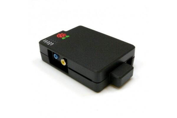 Verenigd Cyntech Berry Black Case For Raspberry Pi A Or B And Protective Sd Card Cover