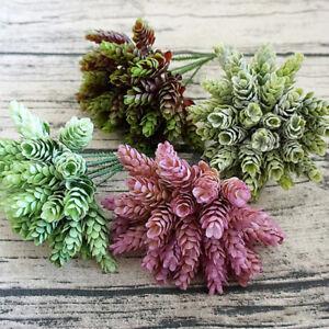 Artificial-Fake-Plastic-Silk-Eucalyptus-Plant-Flowers-Home-Garden-Wedding-Decor
