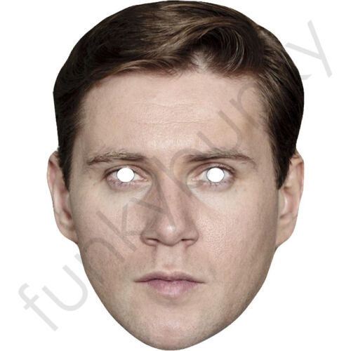 Tom Branson Downton Abbey.All Masks Are Pre-Cut Allen Leech Celebrity Card Mask