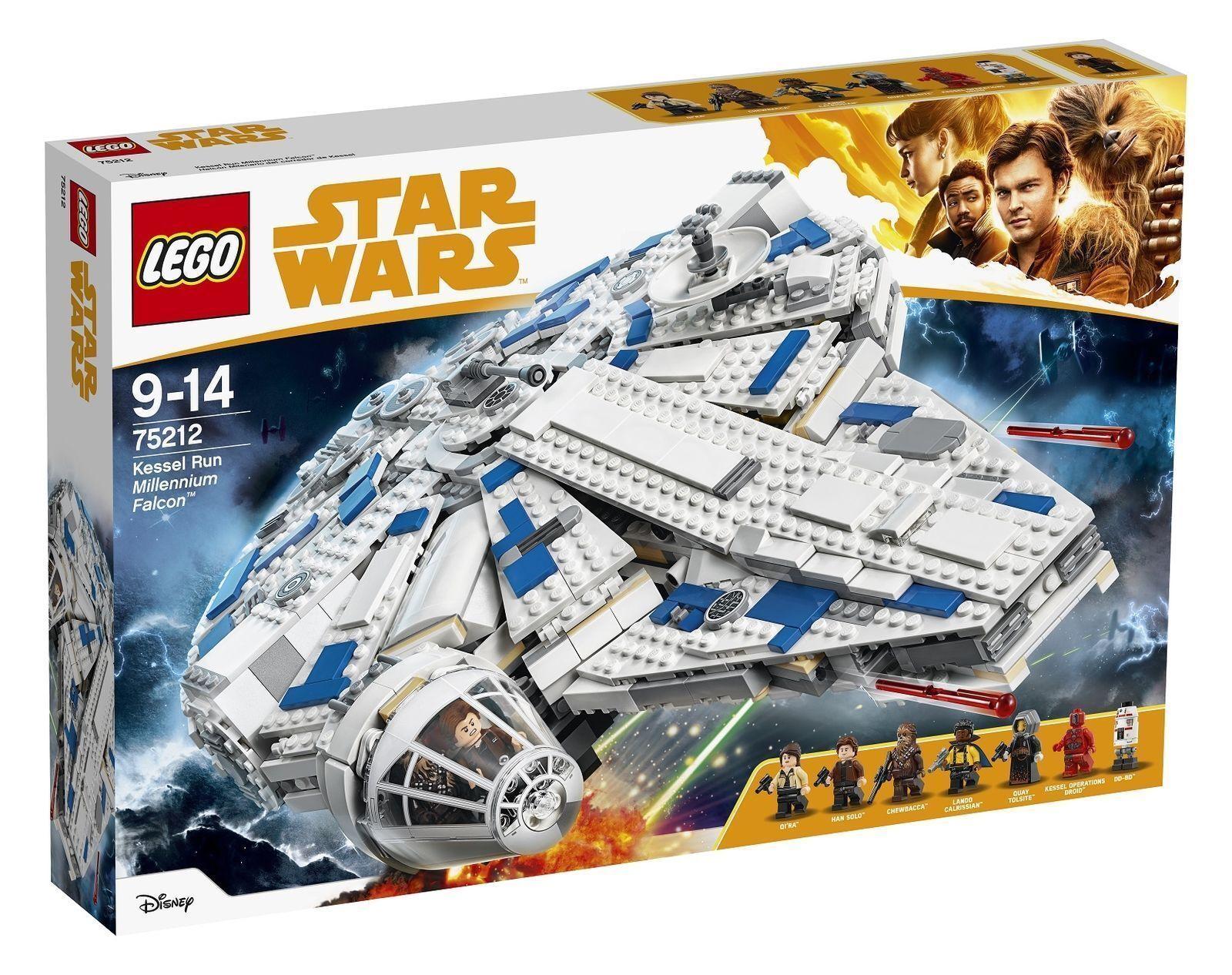 LEGO Star Wars Kessel Run Millennium Falcon 2018 (75212)New, Sealed