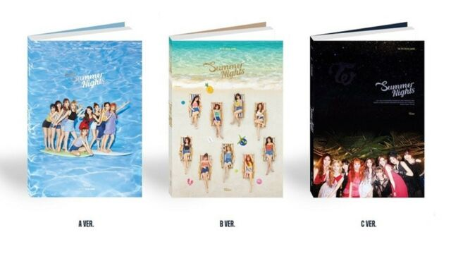 Twice Summer Nights 2nd Special Album 2018 B Version No Photocard Others  Include