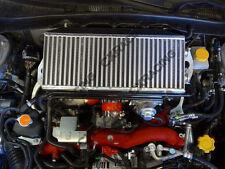 CX Top Mount Intercooler Kit For 2007-2011 Subaru Impreza WRX STi Red Hoses