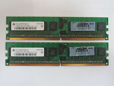 LOT of 2: HP 345112-051, 512MB 1Rx8 PC2-3200R Memory, HYS72T64000HR-5-A
