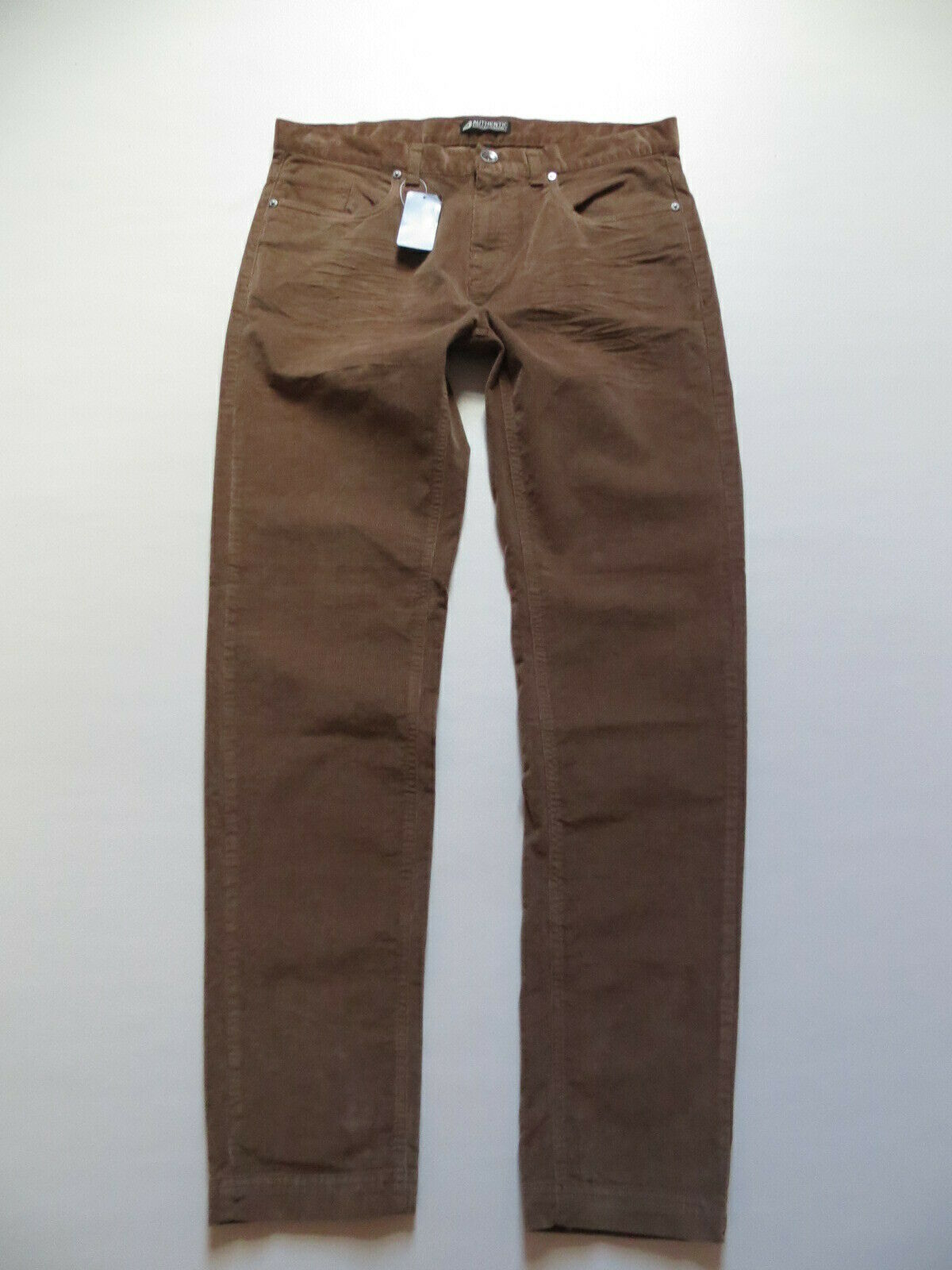 Cord Jeans Hose, W 38  L 33, hell-brown, NEU   bequeme Stretch Cordhose   Gr. 54