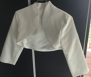 bolero-robe-de-mariee-blanc-taille-XS-34