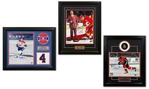 NHL 風扇 Shop - 1 NHL 球員簽名裝裱照片 | 隨機 | 包括 COA |
