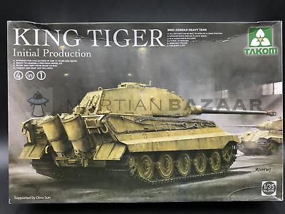 2096 TAKOM 1//35 WWII German Heavy Tank King Tiger Initial production