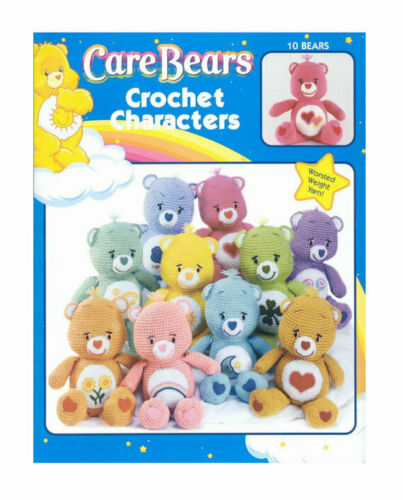 Care Bears Crotchet Pattern BUY 1 GET 1 HALF PRICE