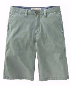 eade24a20d Vans LINDEN Boys Youth Chino Twill Shorts Size 26R North Atlantic ...
