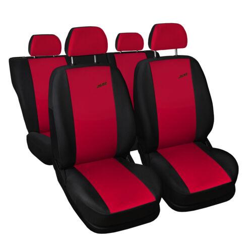 Universal Autositzbezüge für Opel Signum Rot Sitzbezüge Sitzbezug Schonbezüge XR