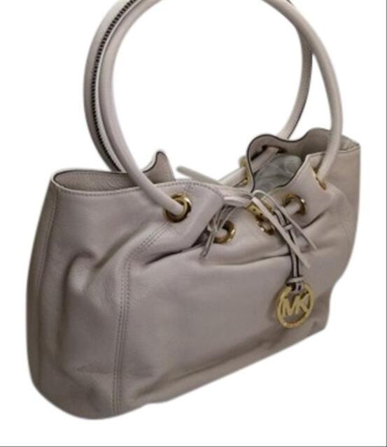 michael kors vanilla leather ring tote handbag purse 219 00 c17161 rh ebay com